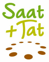 Saat und Tat – Das Gartenportal für die Region München Logo